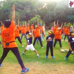 Lodhi garden on the occasion of International yoga  Day