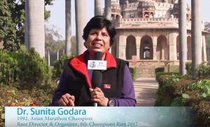 Dr. Sunita Godara Invite Runners for 8th Champions Run 2017
