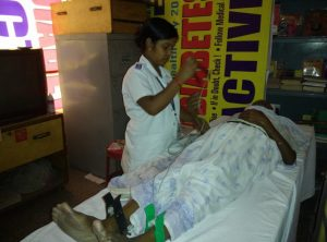 Sr Cit in Free Health Camp~1